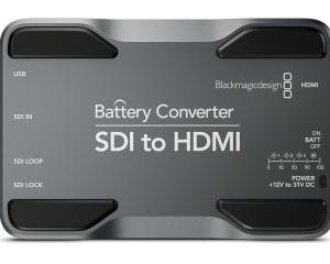 <strong>Blackmagic Design</strong><br /> Battery Converter SDI to HDMI