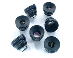 Zeiss Compact Prime CP.2 7-Lens Basic set