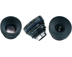 Zeiss Compact Prime CP.2 3-Lens Basic set