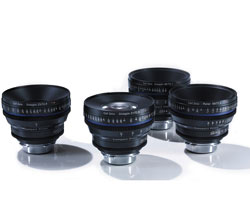 Zeiss Compact Prime CP.2 4-Lens Basic set