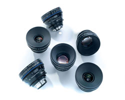 Zeiss Compact Prime CP.2 6-Lens Advanced set