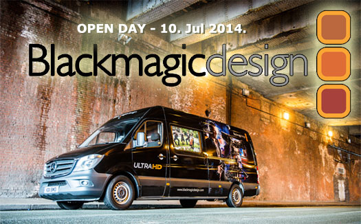 Open Day Black Magic Design